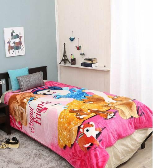Disney Animal Single Bed Kids Blanket