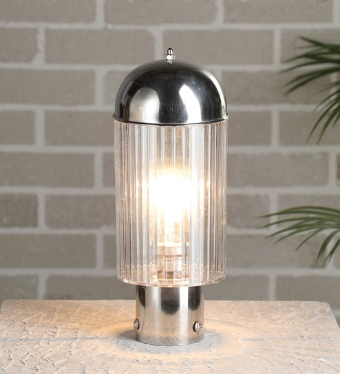 Silver Steel Outdoor Lighting By Superscape