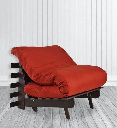 Single Futon Sofa Bed With Mattress