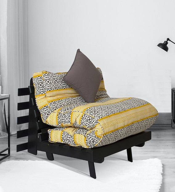 Single Futon Sofa Bed With