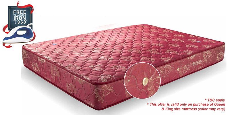 Single Size (72 x 48 ) 8 Inches Thick Bonnell Spring Mattress by Amore International