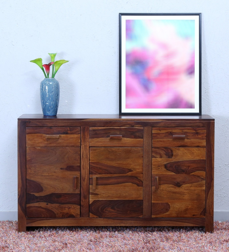 Acropolis Sideboard in Provincial Teak Finish by Woodsworth