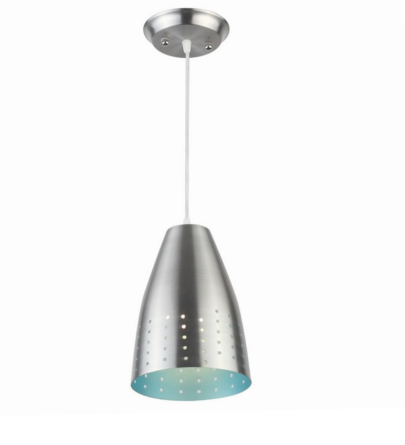 Silver Aluminium Hanging Light by LeArc Designer Lighting