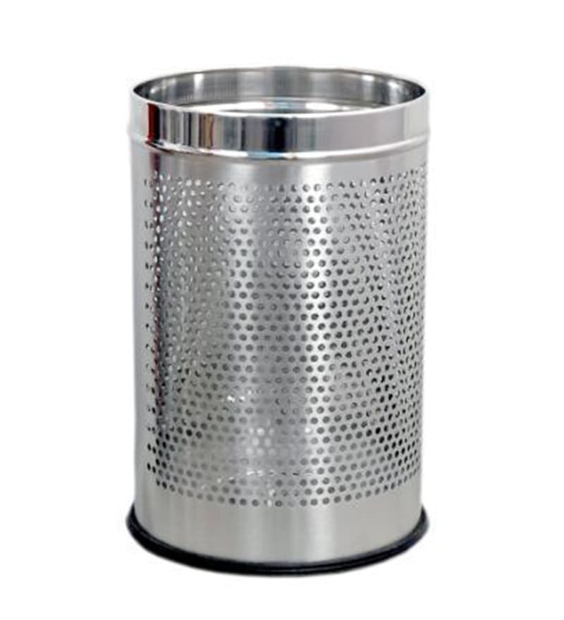 Silverware Stainless Steel 5 L Dustbin