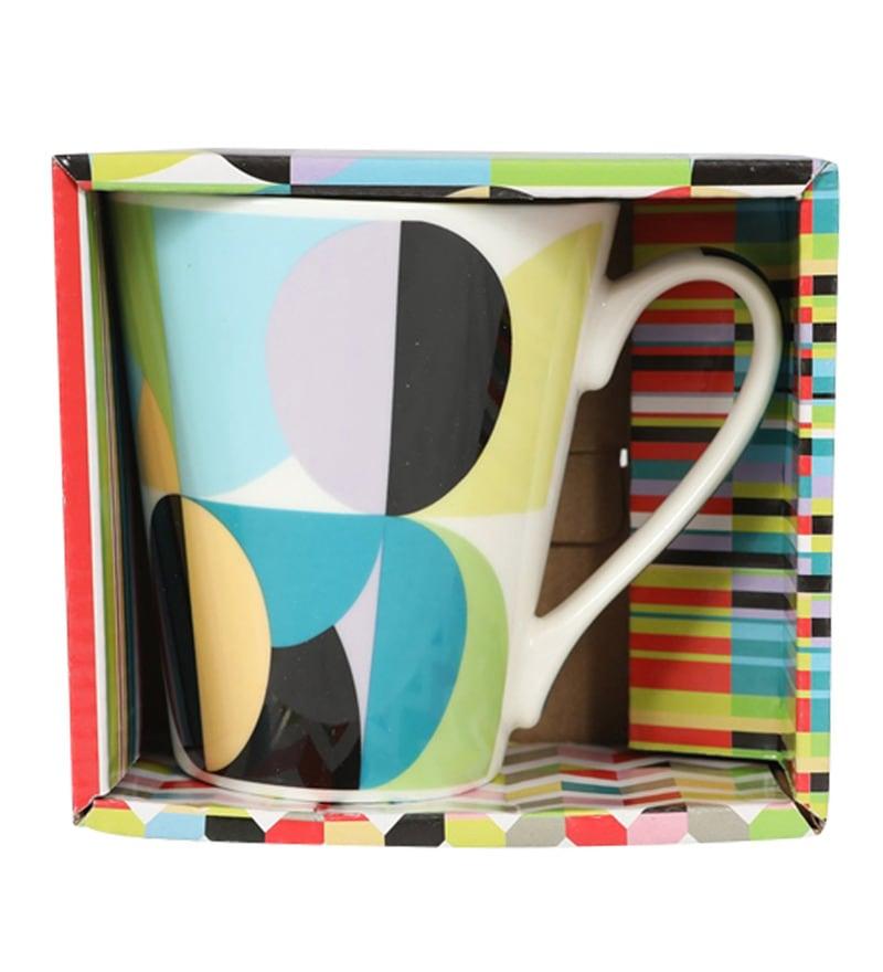 Sivica Rainbow Bone China 500 ML Coffee Mug