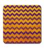 Skipper Multicolor MDF Geometric Patterns Coaster - Set of 6