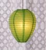 Skycandle Green Paper Lantern