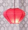Pink Diamond Paper Lantern by Skycandle
