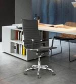 Sleek Design Executive High Back Chair in Black Colour