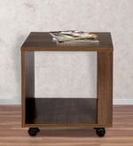 Slim End Table in Acacia Dark Matt Finish