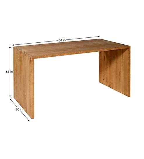 super cute cc09d 81ffc Sleek Mango Wood Writing Desk
