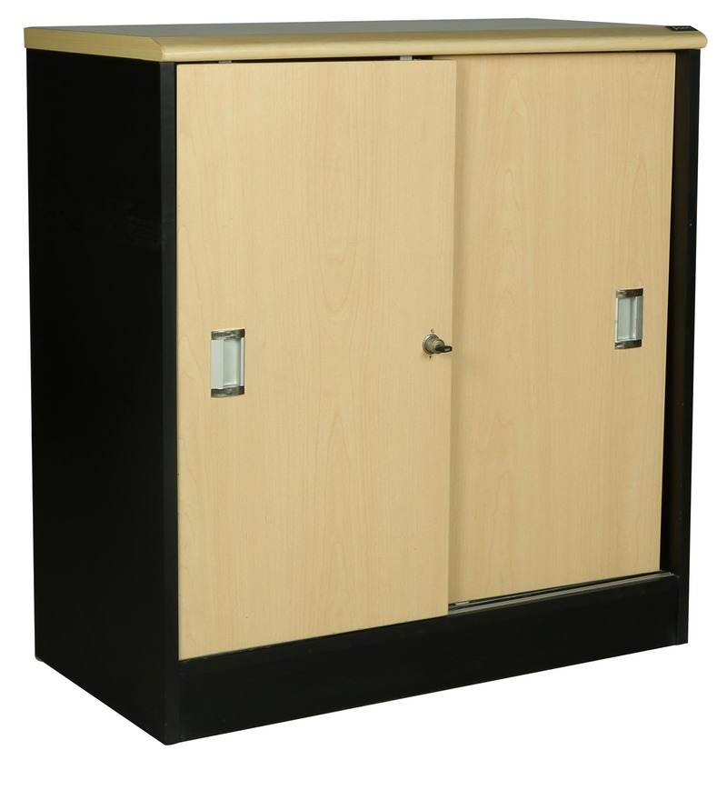 Buy Wonder File Cabinet With Sliding Doors By Parin Online File