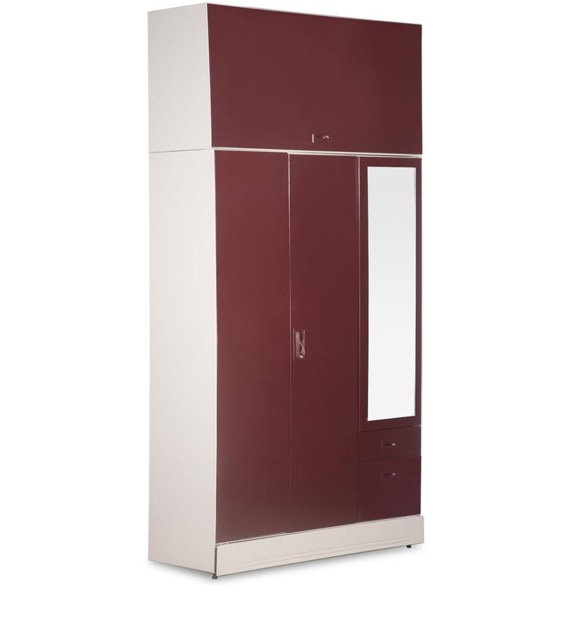 Godrej Modular Kitchen Prices In Haryana: Buy Slimline Blend Wardrobe With Wall Mount Storage Unit