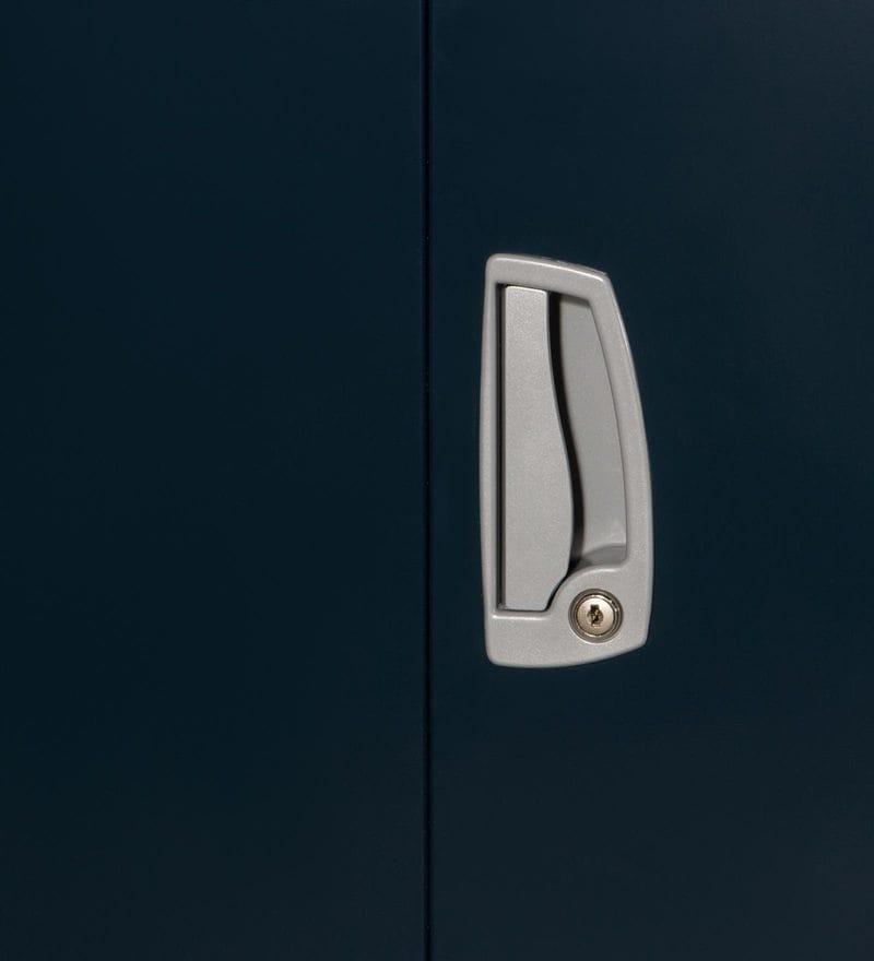Buy Slimline Minor Two Door Wardrobe In Pacific Blue Color