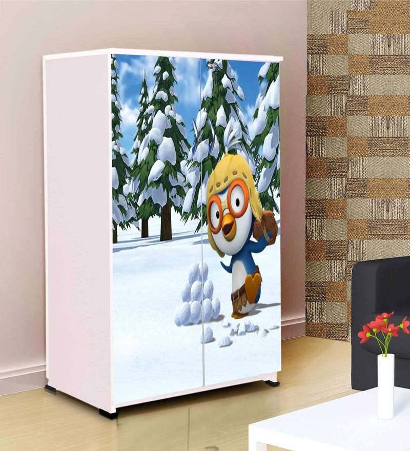 Snow Penguin Kids' Wardrobe by BigSmile Furniture