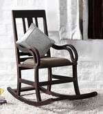 Somerville Rocking Chair in Passion Mahogany Finish
