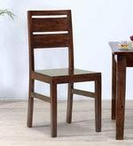 Sorano Dining Chair in Dark Walnut Finish