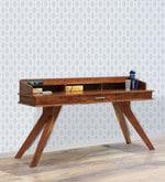 Sorano Study & Laptop Table in Light Walnut Finish