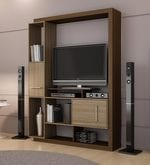 Souta Entertainment Unit in Tobacco & Oak Finish