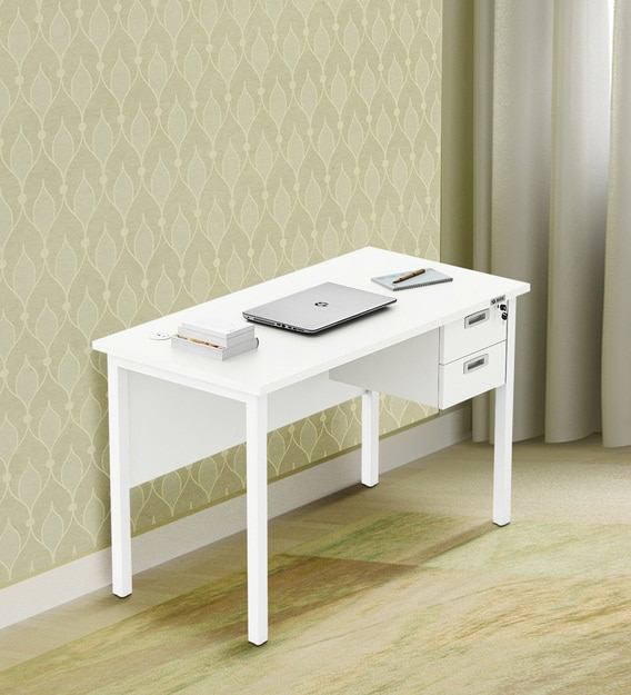 Buy SOS Dexta Work Station in Everest White Finish by ...
