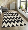 Sofiabrands Black Wool 60 x 96 Inch Modern Carpet