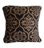 Luis Set of 3 Cushion Cover in Brown & Black by CasaCraft