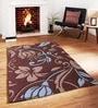 Sofiabrands Multicolour Viscose Floral Carpet