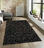 Sofiabrands Brown Viscose Abstract Carpet