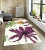 Sofiabrands Multicolour Wool 60 x 96 Inch Floral Carpet