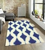 Sofiabrands Navy Wool 60 x 96 Inch Modern Carpet