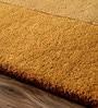 Sofiabrands Pale Yellow Wool 60 x 96 Inch Plain Border Carpet