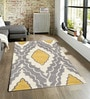 Sofiabrands Yellow Wool 60 x 96 Inch Modern Carpet