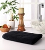 Softweave Black Cotton 55 x 28 Bath Towel