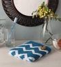 Softweave Blue Cotton 24 x 16 Hand Towel