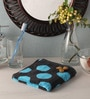 Blue Cotton 24 x 16 Hand Towel by Softweave