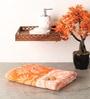 Softweave Orange Cotton 53 x 25 Bath Towel
