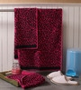 Pink Cotton 20 x 39 Hand Towel - Set of 3 by Softweave