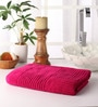 Pink Cotton 55 x 28 Bath Towel by Softweave
