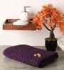 Purple Cotton 55 x 28 Bath Towel by Softweave