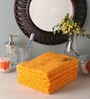 Yellow Cotton 16 x 28 Face Towel - Set of 5 by Softweave