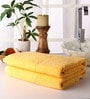 Yellow Cotton 28 x 55 Bath Towel - Set of 2 by Softweave