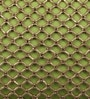Green Cotton 12 x 18 Inch Beaded Cushion Cover by Solaj