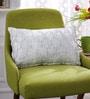 Metallic Cotton 12 x 18 Inch Metallic Cushion Cover by Solaj