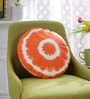 Solaj Multicolour Cotton 14 Inch Printed Cushion Cover
