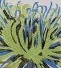 Solaj Multicolour Cotton 16 x 16 Inch Embroidery Nature & Florals Cushion Cover