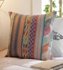 Solaj Multicolour Cotton 16 x 16 Inch Woven Cushion Cover