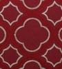 Multicolour Cotton 18 x 18 Inch Embroidery Cushion Cover by Solaj