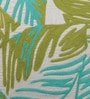 Solaj Multicolour Cotton 20 x 20 Inch Nature & Florals Embroidery Cushion Cover