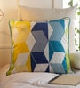 Multicolour Cotton 20 x 20 Inch Printed Cushion Cover by Solaj