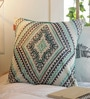 Solaj Multicoloured Cotton 16 x 16 Inch Geometric Pattern Cushion Cover